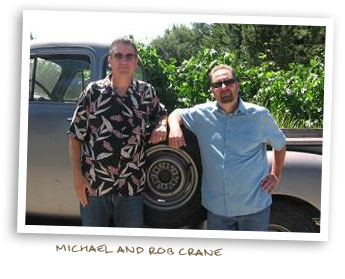 Michael and Rob Crane