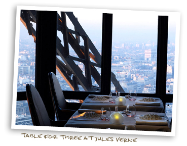 Table For Three at Jules Verne