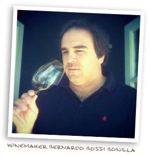Winemaker Bernardo Bossi Bonilla