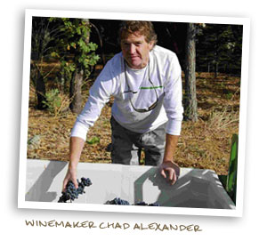 Winemaker Chad Alexander