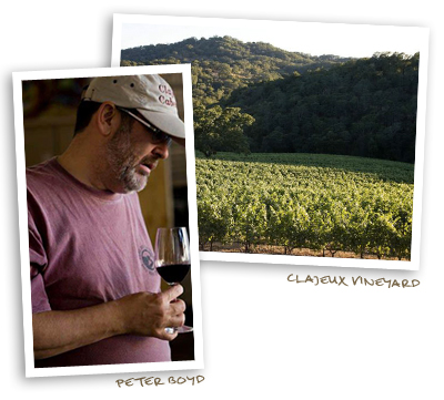 Peter Boyd and Clajeux Vineyard