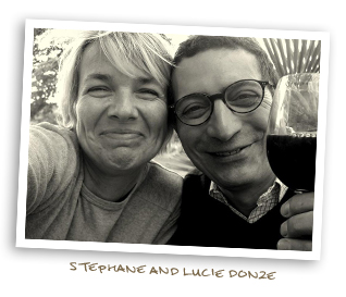 Stephane and Lucie Donze
