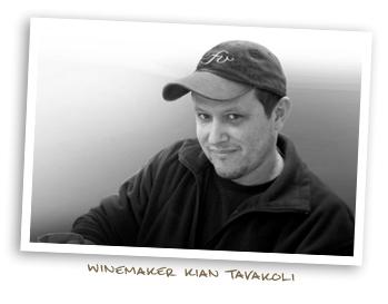 Winemaker Kian Tavakoli