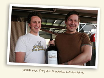 Jeff Mathy and Karl Lehmann