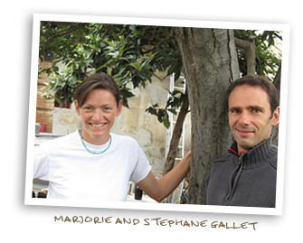 Marjorie and Stephane Gallet