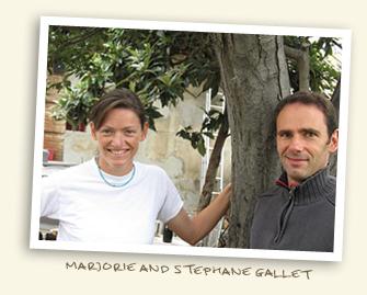 Marjorie & Stephane Gallet