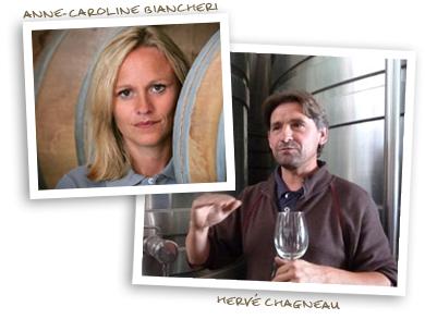Anne-Caroline Biancheri and Hervé Chagneau
