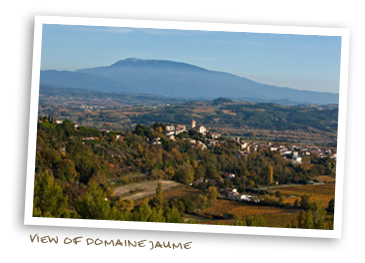 View of Domaine Jaume
