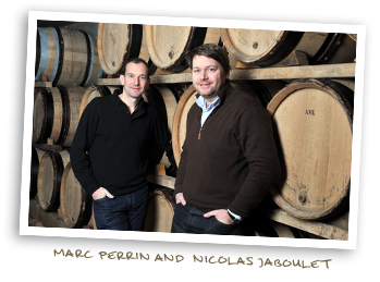 Marc Perrin and Nicolas Jaboulet