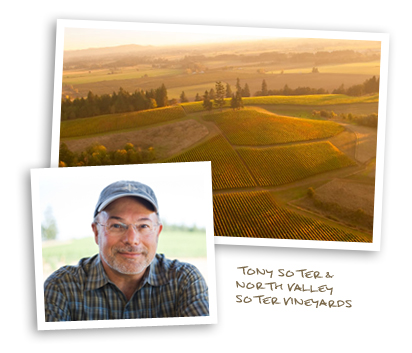 Tony Soter and North Valley Soter Vineyards