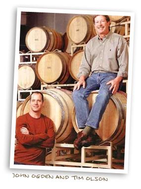 John Ogden and Tim Olson