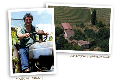 Pascal Sirat and Chateau Panchille