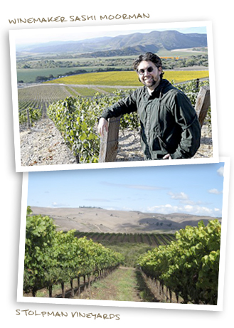 Winemaker Sashi Moorman and Stolpman Vineyards
