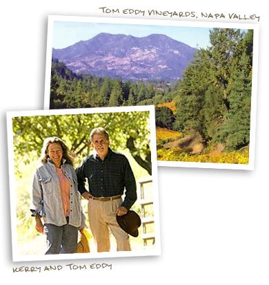 Tom Eddy Vineyards, Napa Valley & Kerry & Tom Eddy