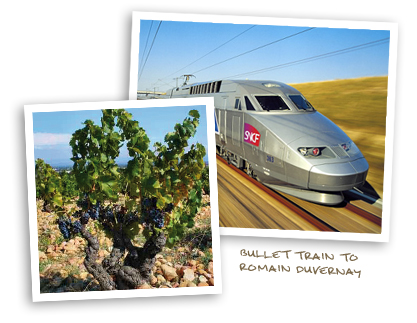 Bullet Train to Romain Duvernay