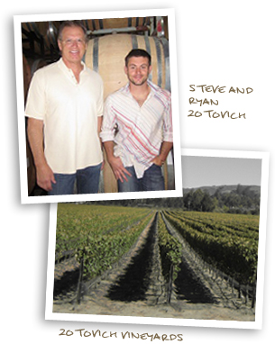 Steve and Ryan Zotovich, Zotovich Vineyards